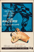 "Movie Posters:Drama, The Racers (20th Century Fox, 1955). Folded, Fine/Very Fine. One Sheet (27"" X 41""). Drama.. ..."