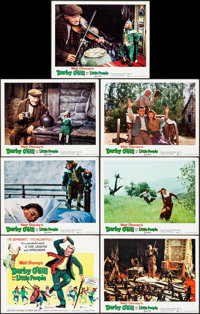 "Darby O'Gill and the Little People (Buena Vista, 1959). Very Fine-. Title Lobby Card & Lobby Cards (6) (11""..."