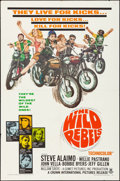 "Movie Posters:Exploitation, The Wild Rebels (Crown International, 1967). Folded, Fine/Very Fine. One Sheet (27"" X 41""). Exploitation.. ..."