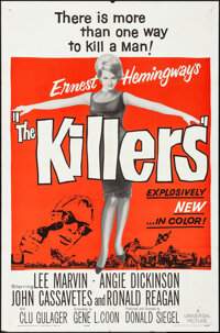 "The Killers (Universal, 1964). Folded, Very Fine-. One Sheet (27"" X 41""). Crime"