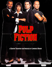 """Pulp Fiction (Miramax, 1994). Folded, Very Fine. Die Cut Standee (41"""" X 65.75""""). Crime"""
