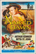 """Movie Posters:Western, The Naked Dawn & Other Lot (Universal International, 1955). Folded, Very Fine-. One Sheets (2) (27"""" X 41""""). Western.. ... (Total: 2 Items)"""