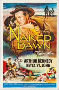 """The Naked Dawn & Other Lot (Universal International, 1955). Folded, Very Fine-. One Sheets (2) (27"""" X 41&qu..."""