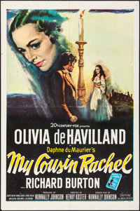 "My Cousin Rachel & Other Lot (20th Century Fox, 1952). Folded, Very Fine-. One Sheets (2) (27"" X 41"")..."