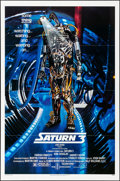 "Movie Posters:Science Fiction, Saturn 3 & Other Lot (Associated Film, 1980). Folded, Very Fine. One Sheets (4) (27"" X 41""). Science Fiction.. ... (Total: 4 Items)"