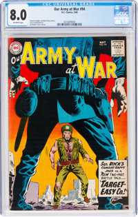 Our Army at War #94 (DC, 1960) CGC VF 8.0 Off-white pages