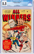 Golden Age (1938-1955):Superhero, All Winners Comics #19 (Timely, 1946) CGC FN- 5.5 Off-white to white pages....