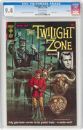 Silver Age (1956-1969):Horror, Twilight Zone #27 File Copy (Gold Key, 1968) CGC NM 9.4 Off-white pages....