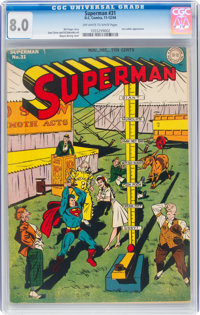 Superman #31 (DC, 1944) CGC VF 8.0 Off-white to white pages