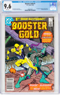 Modern Age (1980-Present):Superhero, Booster Gold #1 (DC, 1986) CGC NM+ 9.6 White pages....