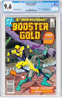 Booster Gold #1 (DC, 1986) CGC NM+ 9.6 White pages