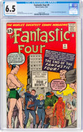 Silver Age (1956-1969):Superhero, Fantastic Four #9 (Marvel, 1962) CGC FN+ 6.5 Off-white to ...