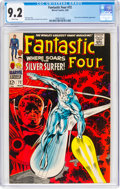 Silver Age (1956-1969):Superhero, Fantastic Four #72 (Marvel, 1968) CGC NM- 9.2 White pages....