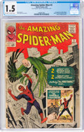 Silver Age (1956-1969):Superhero, The Amazing Spider-Man #2 (Marvel, 1963) CGC FR/GD 1.5 Off-white to white pages....