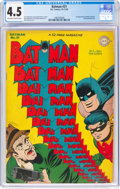 Golden Age (1938-1955):Superhero, Batman #31 (DC, 1945) CGC VG+ 4.5 Off-white to white pages....
