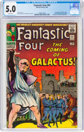Silver Age (1956-1969):Superhero, Fantastic Four #48 (Marvel, 1966) CGC VG/FN 5.0 White pages....