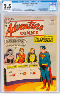 Adventure Comics #247 (DC, 1958) CGC GD+ 2.5 Off-white to white pages