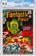 Silver Age (1956-1969):Superhero, Fantastic Four #49 (Marvel, 1966) CGC NM- 9.2 Off-white to white pages....