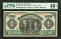 Canadian Currency, Canada Dominion of Canada $1 3.1.1911 DC-18d PM...