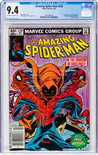 The Amazing Spider-Man #238 (Marvel, 1983) CGC NM 9.4 Off-white to white pages