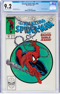 The Amazing Spider-Man #301 (Marvel, 1988) CGC NM- 9.2 Off-white to white pages