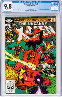 X-Men #160 (Marvel, 1982) CGC NM/MT 9.8 White pages