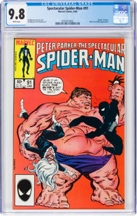 Spectacular Spider-Man #91 (Marvel, 1984) CGC NM/MT 9.8 White pages