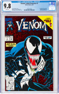 Modern Age (1980-Present):Superhero, Venom: Lethal Protector #1 (Red holo-grafx foil cover) (Marvel, 1993) CGC NM/MT 9.8 White pages....