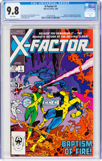 X-Factor #1 (Marvel, 1986) CGC NM/MT 9.8 White pages