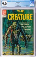 Silver Age (1956-1969):Horror, Movie Classics: The Creature Second Printing (Dell, 1964) CGC VF/NM 9.0 Off-white pages....