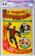 Silver Age (1956-1969):Superhero, The Amazing Spider-Man #8 (Marvel, 1964) CGC Apparent FN 6.0 Slight (C-1) Off-white pages....