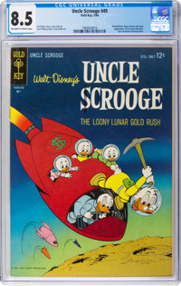 Uncle Scrooge #49 (Gold Key, 1964) CGC VF+ 8.5 Off-white to white pages