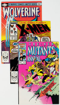 Wolverine/X-Men Related Group of 58 (Marvel, 1982-2000) Condition: Average NM-.... (Total: 58 )