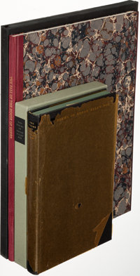 [Limited Editions Club]. Edgar Allan Poe. The Fall of the House of Usher. New York: 1985. One o... (Total: 2)