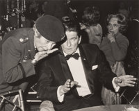 Ron Galella (American, b. 1931) Martha Raye and Ronald Reagan attend Dinner to Honor Returned Prisoners of War