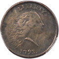 Large Cents, 1793 1C Chain, AMERICA, Periods, S-4, B-5, R.3, XF40 PCGS....