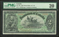 Canadian Currency, Canada Dominion of Canada $2 2.7.1897 DC-14b PM...