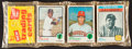 Baseball Cards:Unopened Packs/Display Boxes, 1973 Topps Unopened 3rd/4th Series Rack Pack with Babe Ruth....