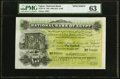 Egypt National Bank of Egypt 100 Pounds 20.11.1904 Pick 6s Specimen PMG Choice Uncirculated 63