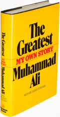 Books:Biography & Memoir, Muhammad Ali. The Greatest. New York: [1975]. First edition. Inscribed by Ali.. ...