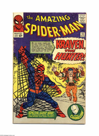 The Amazing Spider-Man #15 (Marvel, 1964) Condition: VG. First appearance of Kraven the Hunter. First mention of Mary Ja...