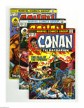 Bronze Age (1970-1979):Miscellaneous, Conan the Barbarian #26-45 Group (Marvel, 1973-74) Condition:Average VF. This group includes # 26, 27 (VG), 28, 29, 30, 31,...(Total: 20 Comic Books Item)