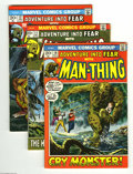 Bronze Age (1970-1979):Horror, Fear #10-19 Group (Marvel, 1972-73) Condition: Average FN/VF.Featuring Man-Thing. This lot consists of issues #10, 11, 12, ...(Total: 11 Comic Books Item)