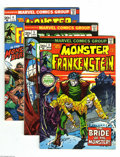 Bronze Age (1970-1979):Horror, Frankenstein Group (Marvel, 1973-75) Condition: Average VG+. Thisgroup includes #2, 3 (two copies), 4, 5 (two copies), 6 (t...(Total: 20 Comic Books Item)