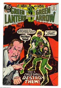 Green Lantern #83 (DC, 1971) Condition: VF/NM. Neal Adams cover and art. GL reveals his identity to Carol Ferris. Overst...