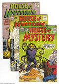 Silver Age (1956-1969):Mystery, House of Mystery Group (DC, 1963-64) Condition: Average FN. Lot ofeight issues from the Silver Age horror-science fiction a...(Total: 8 Comic Books Item)