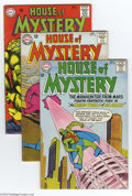 Silver Age (1956-1969):Mystery, House of Mystery Group (DC, 1964-65) Condition: Average FN+. Thislot includes a half-dozen issues of the Silver Age sci-fi ...(Total: 6 Comic Books Item)
