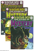 Silver Age (1956-1969):Mystery, House of Mystery Group (DC, 1968-1970). Lot of ten issues from theclassic horror anthology book, all with great Neal Adams ...(Total: 10 Comic Books Item)
