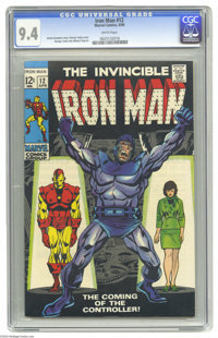 Iron Man #12 (Marvel, 1969) CGC NM 9.4 White pages. George Tuska cover. Tuska and Johnny Craig art. Overstreet 2004 NM-...