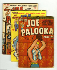 Joe Palooka Comics Group (Harvey, 1946-54) Condition: Average GD+. This group includes #6, 20, 21, 45, and 83. Approxima...